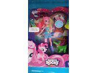 My little pony equestrian girls new dolls x