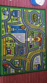 Small Street carpet for children