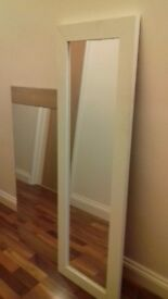 Full length and 3/4 length mirrors