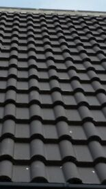 Brand new roof tiles with free fillets.