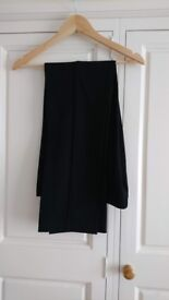 M&S Black Trousers Size 12