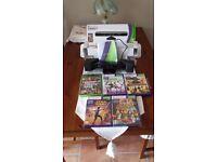 X Box 360 Kinect Sensor with games