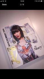 Hardback Jessie J Book- Nice to meet you