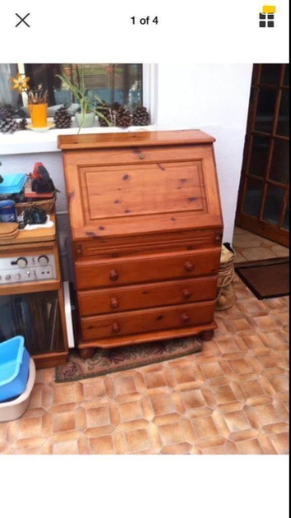 Honey Pine Desk