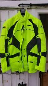Men's 4XL motorbike jacket