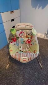 Fisher-price Calming Vibrations Woodsy Friends Comfy Time Bouncer