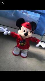 Break dancing mickey mouse