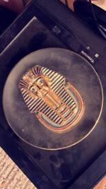 Collectable Tutankhamen plate