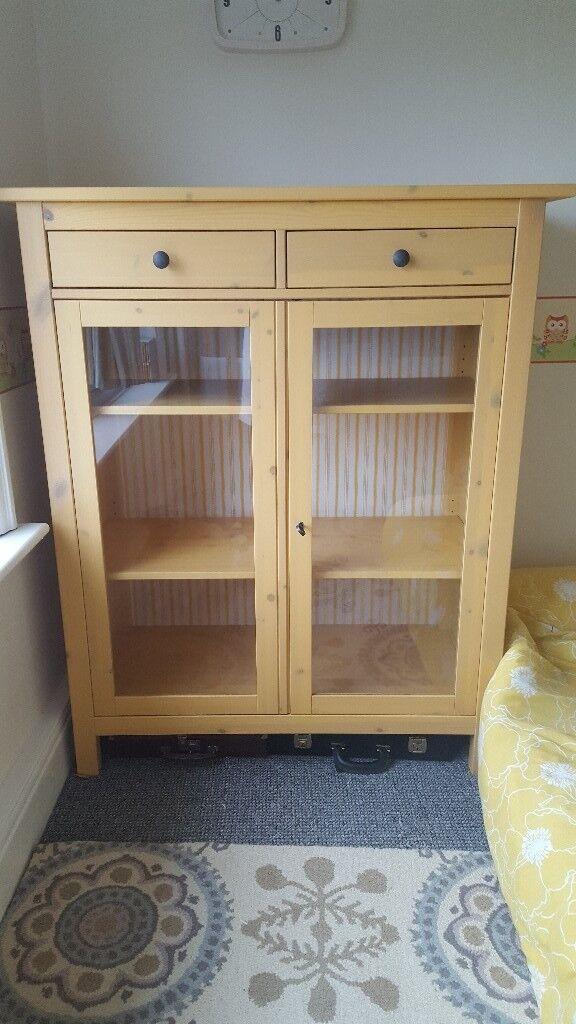 Rare IKEA Hemnes Yellow Bedroom Cabinet / Linen Cabinet ...