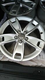 "Audi A3 Sport 17"" Alloy wheels 5x112 - No Tyres"