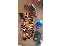 Brats dolls, play sets and accessories