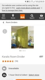 room dividers b and q spring mounted