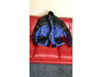 Frank Thomas Men's Textile Motorbike Jacket.