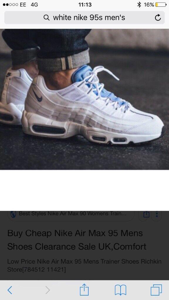 buy popular 52ef0 76547 ... purchase nike gumtree 95 es blanco en newport gumtree nike 33521a 8b29a  1adc8