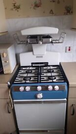 A vintage Parkinson Cowan Prince One Universal Gas Cooker ( 1969) for sale.