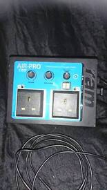 Air-Pro 'ram' Combined Temperature & Fan Speed Controller with digital readout display