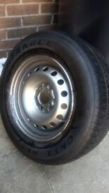 Peugeot expert wheel and tyre