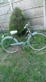 "Ladies bike 1975 26 ""wheel gwo vgc super buy ride away original"