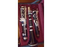 E-13 Buffet Paris Bb clarinet, with pull through, in good condition. £850-$950