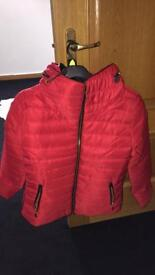 Womens size 12 quilted jacket
