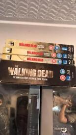 The walking dead season 1-6 on Blu Ray
