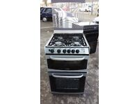 CANNON CHESTER 55cm FULL GAS COOKER-SILVER