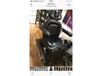 Massage and pedicure chair - remote controlled