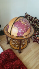 Must sell this weekend - Large World Globe. Rotates All Directions. Beautiful!