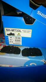 Shimano cycling shoes size 9.5UK