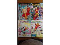Rupert Bear annuals 1980 to 1994
