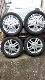 """Ford 16 inch wheels with 205/55 16"""" Tyres"""