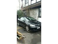 02 plate vauxhall astra convertible