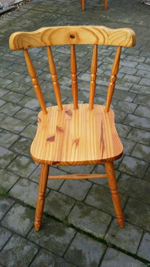 Pine farmhouse chair