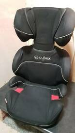 Baby car seat booster