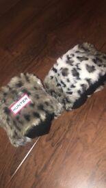NEW Hunter Fleece Welly Socks