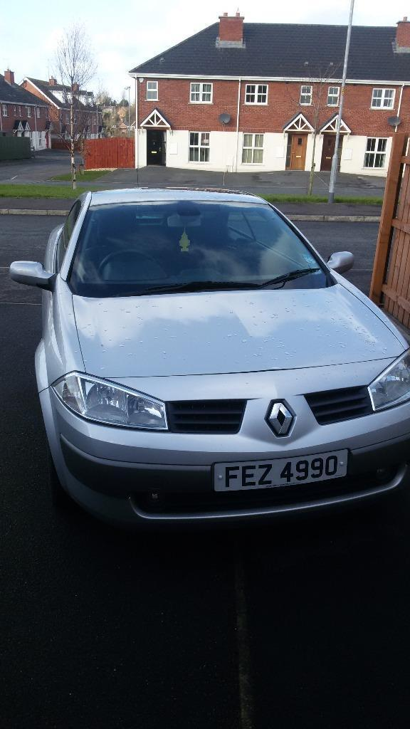 renault megane convertible 2005 in craigavon county armagh gumtree. Black Bedroom Furniture Sets. Home Design Ideas