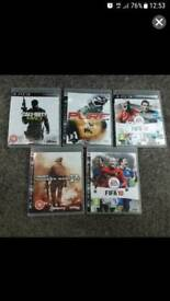 5 PlayStation3 Games