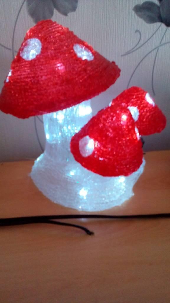 Set of 3 led mushroom lightin Rotherham, South YorkshireGumtree - Led cluster of mushrooms indoor or outdoor