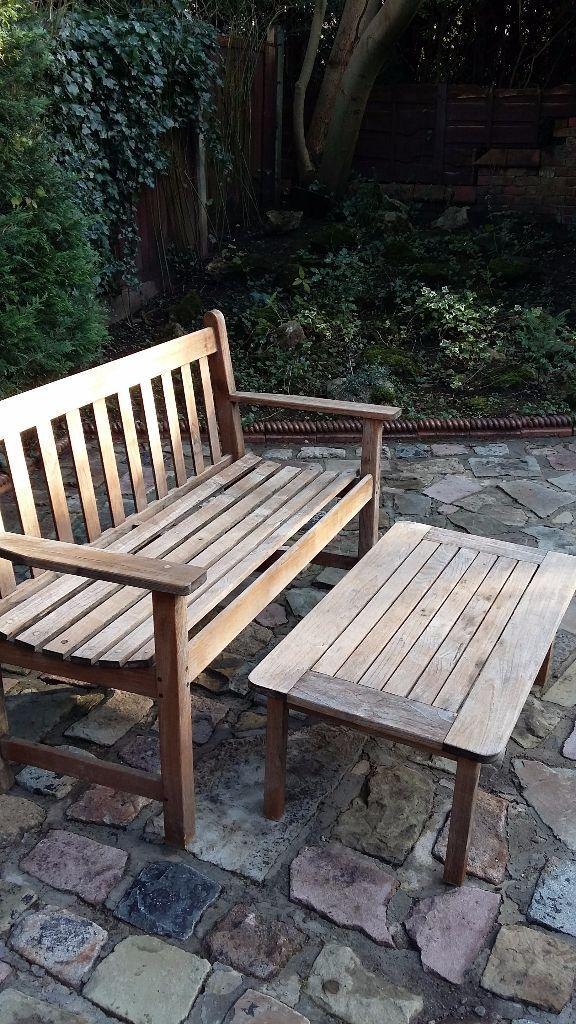 Lister Teak Garden Furniture Uk Lister Teak Garden Bench In Benches And Furniture With Lister