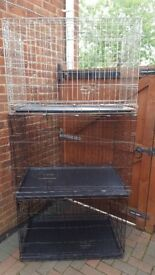 dog cages /beds