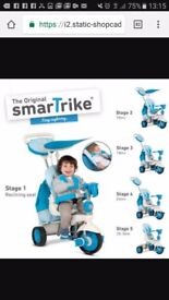 Smartrike splash blue. Great/excellent condition. With lots of accessories