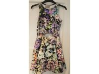 ASOS PETITE FLORAL SUMMER SKATER DRESS NEVER WORN, WITH TAGS