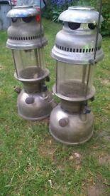 storm-hurricane brand named German lamps.vintage