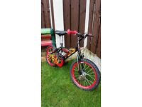 """Boys 16 """" silverfox bike like new can deliver for a small charge"""