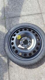Brand new tyre wheel steel wheel
