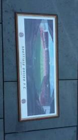 Sufc framed stadium print