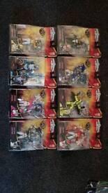 Power rangers megaforce complete toy set