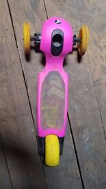 Girl's scooter for 2 and 5 years old **15 POUNDS ONLY**