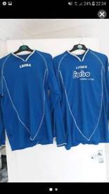 X 16 men's football kits for sale TOPS ONLY