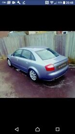 AUDI A4 1.8TURBO LIMITED EDITION 05PLATE